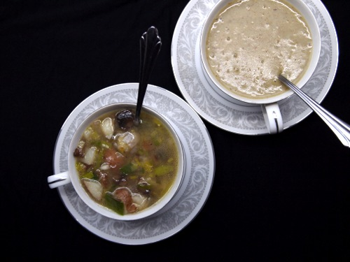 Mushroom, Leek, and Potato Soup
