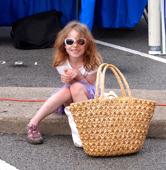 Miette at the Market